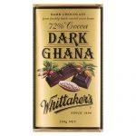 Whittakers 72% Cocoa Dark Ghana Block